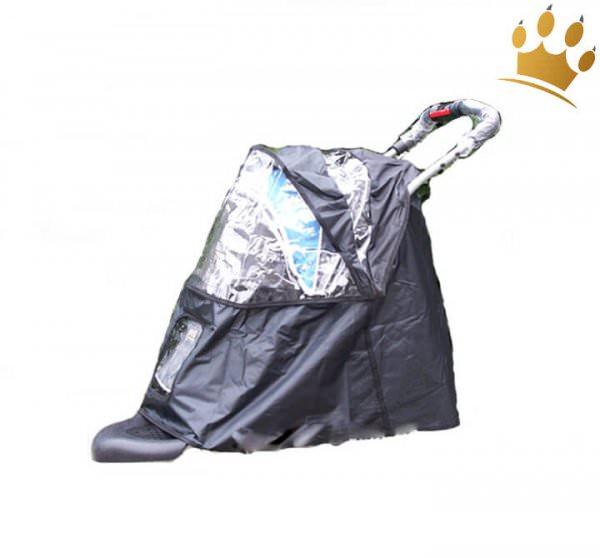 Regenhaube für Hundebuggys