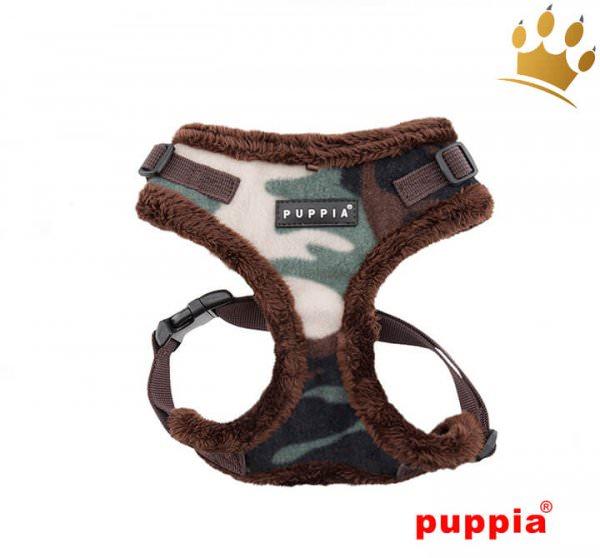 Puppia Softgeschirr Corporal Camouflage Grün