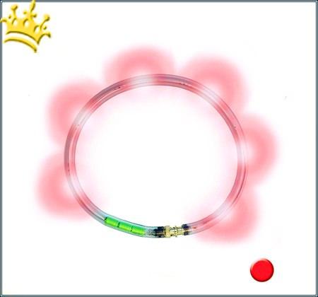LumiVision® Hundeleuchthalsband Rot
