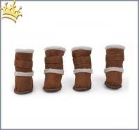 Hundeschuhe Cozy Boots High Caramel