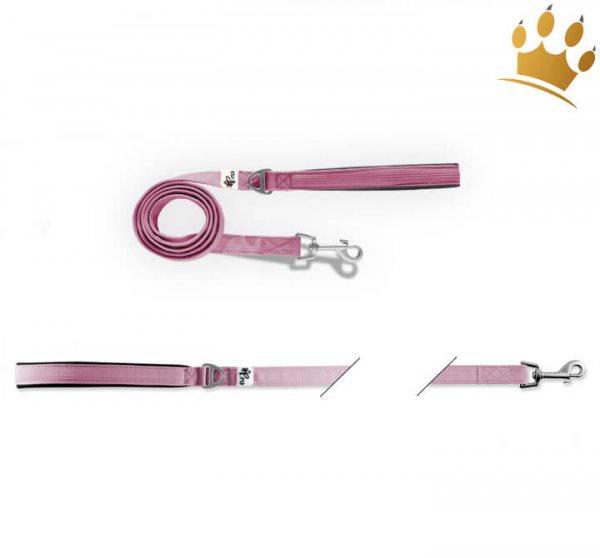 Curli® Basic Hundeleine Nylon Pink