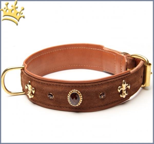 Hundehalsband Bellezza Braun