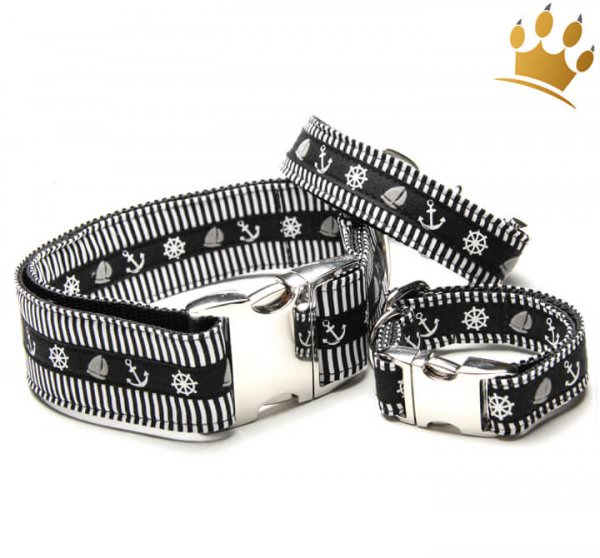 Hundehalsband Smutje Black