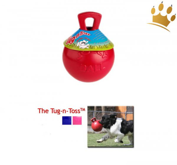 Hundespielzeug The Tug-n-Toss Ball