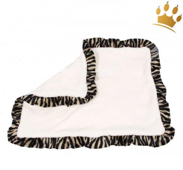 Hundedecke Teddy Cream Tiger