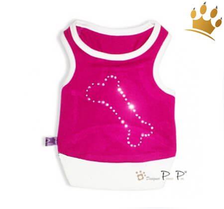 Hundeshirt Bone Pink