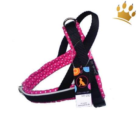 Jack-B Hundegeschirr Pink Dots