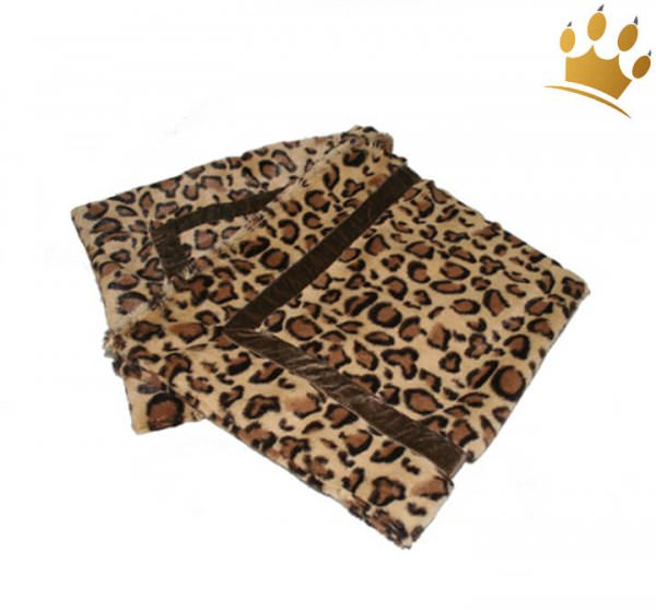 Hundedecke Cheetah Mink