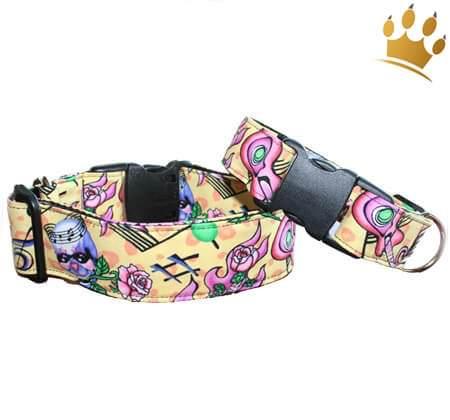 Hundehalsband Skull Melody