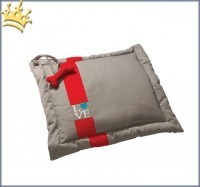 Hundedecke Coussin Love Taupe