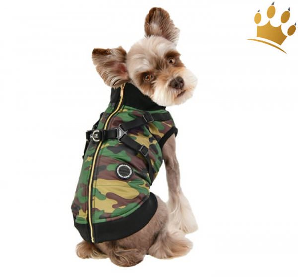 Puppia Hundemantel Frost Camouflage