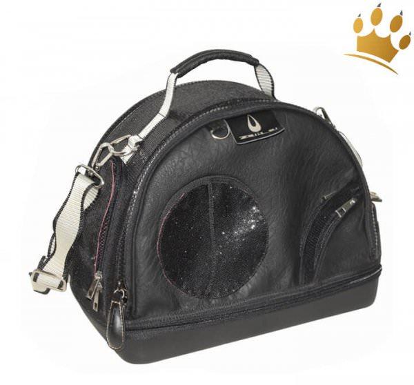 Hundetasche Leander Black