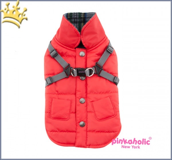 Pinkaholic Hundemantel Ameila Red