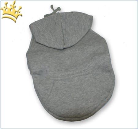 Kapuzen-Sweatshirt Uni Grau