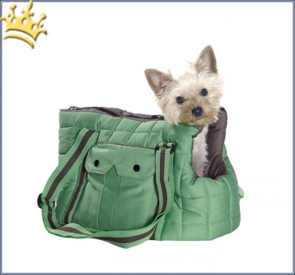 Hundetasche Sac Vadrouille Pistazie