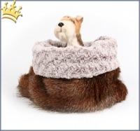 Hunde Cuddle Cup Hidden Fox Ice Curly