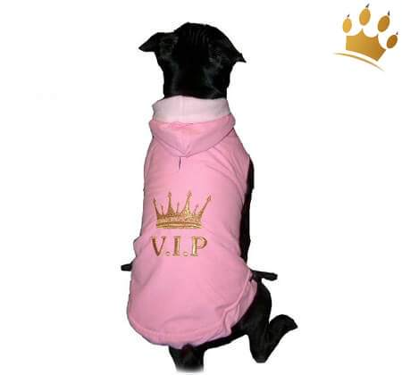 Hundemantel Royal Deluxe Pink