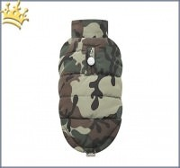 Puppyangel Hundemantel Military Quillted Camouflage