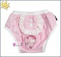 Hundeschutzhose Hot Pant Pink
