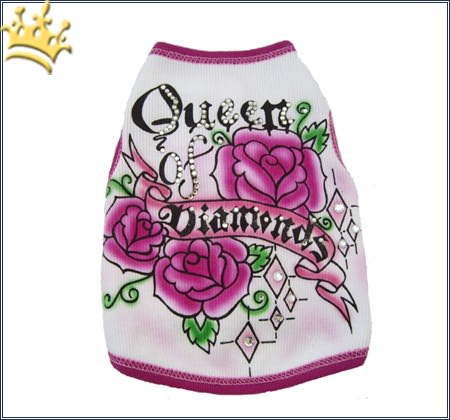Hundeshirt Queen Diamonds
