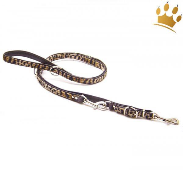 Hundeleinen Nairobi Leopard verstellbar