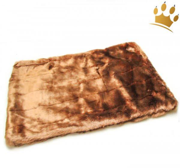 Hunde Cuddle Plaid Schoko Caramel