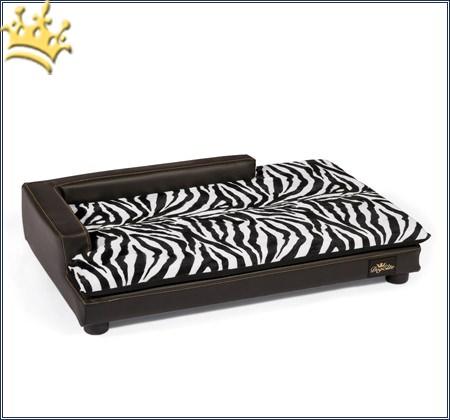 Hundelounge Zebra