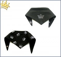Hundebandana Royal Black