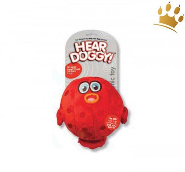 Hundespielzeug Blow Fish mit lautlos Squeaker