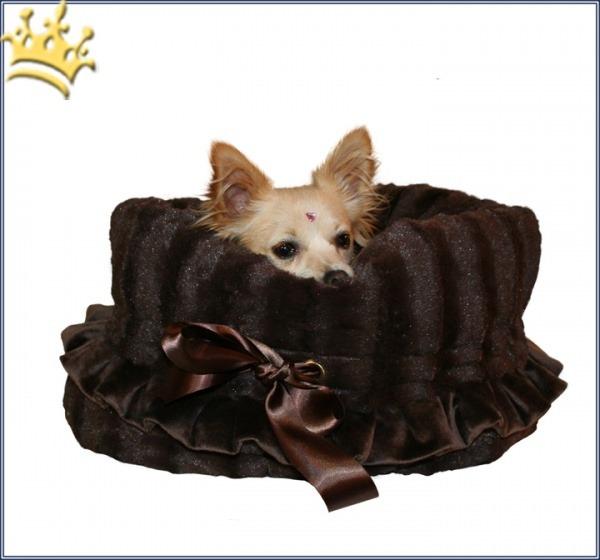 Hundetasche Snuggle Bug Brown