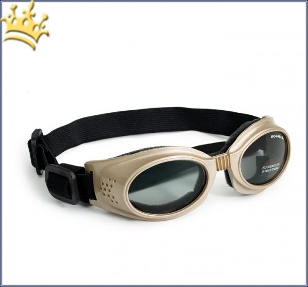 Doggles® Originalz Hunde-Sonnenbrille Goldfarbend