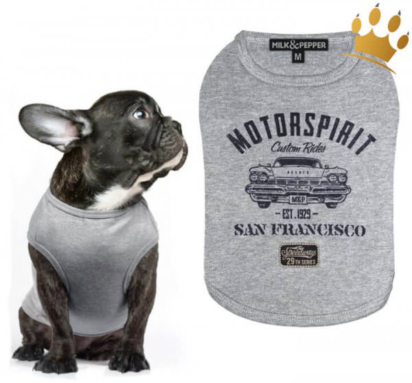 Milk & Pepper Hunde-T-Shirt Cadillac