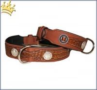 Hundehalsband Western