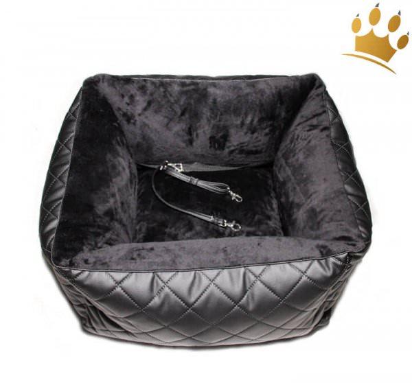 Hunde-Autositz Comfort Deluxe Stepp Black