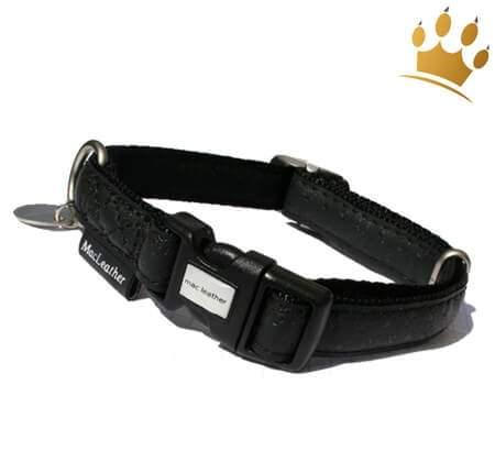 Hundehalsband Fiori Black