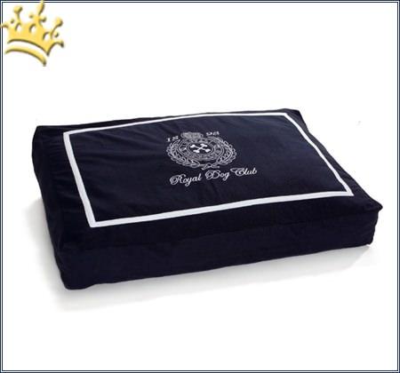 Hundekissen Royal Doggie Blau