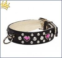 Hundehalsband Heartbreaker Miami Schwarz