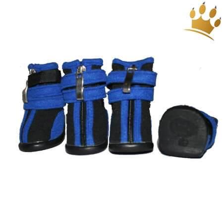 Hundeschuhe Neopren Sport Black/Blau