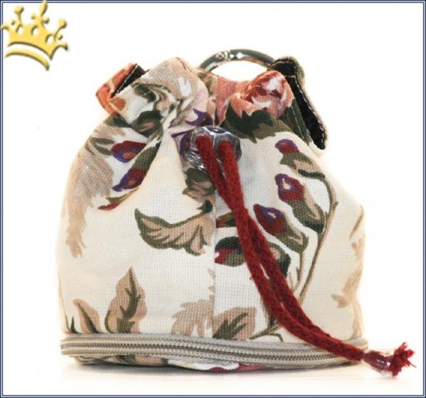 Leckerlibeutel Blumen Handmade