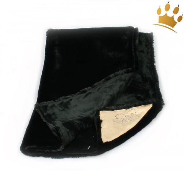 Hunde-Kuscheldecke Gentile Black