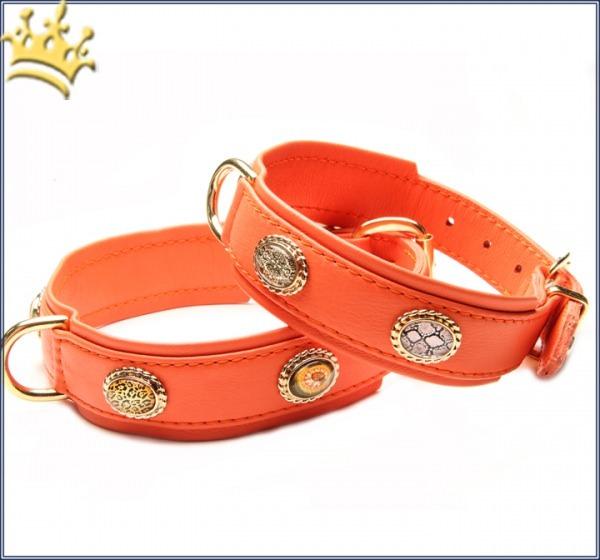 Hundehalsband Ibiza 80 Orange