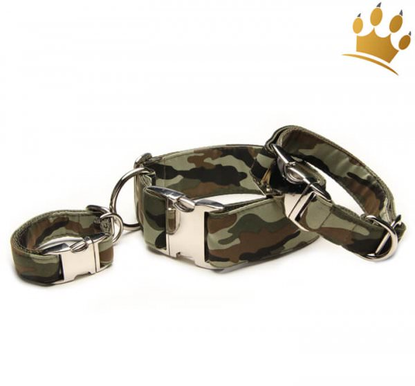 Hundehalsband Camouflage Deluxe