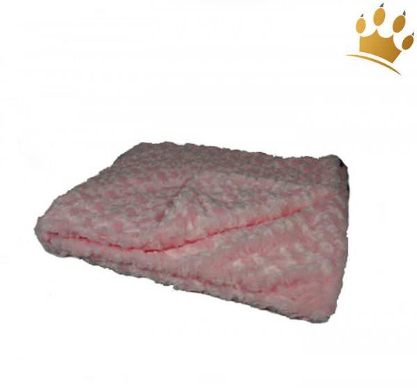Hunde Cuddle Plaid Curly Pink