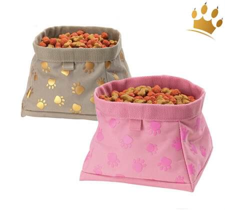 Pawprint Travel Bowls
