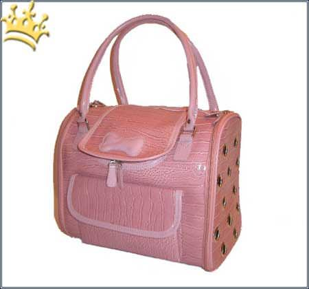 Hundetasche Beverly Hills pink