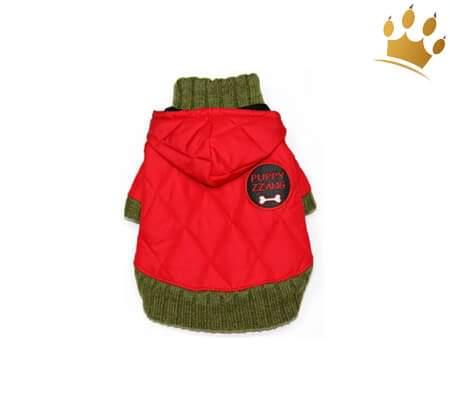 Hundeparka Polar rot