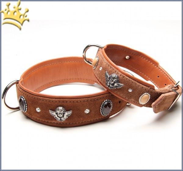 Hundehalsband Bella Angelo Braun