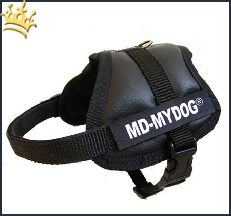 MyDog Hundegeschirr Black