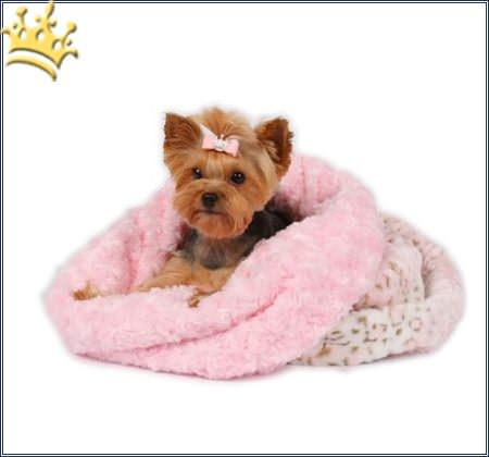 Hunde Cuddle Cup Leo Pink Fur
