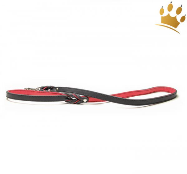 Hundeleine Silver Rot 100cm